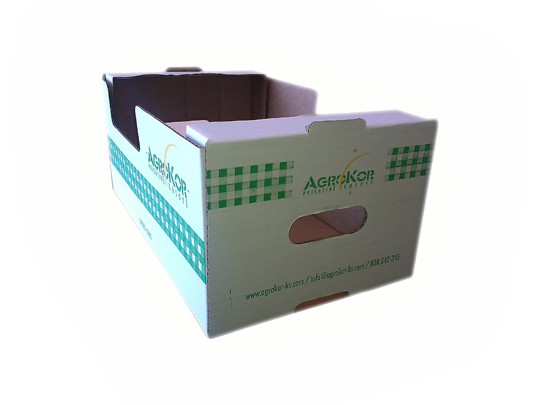 Agrokor kartonska kutija