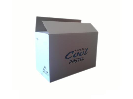 Cool pastel kartonska kutija
